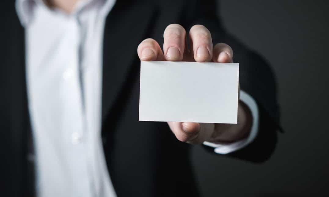 carte professionnelle de transaction immobilière d'un agent