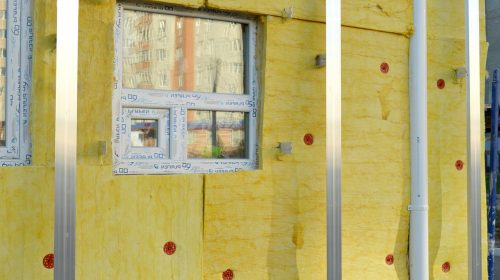 Isolation thermique d'une façade