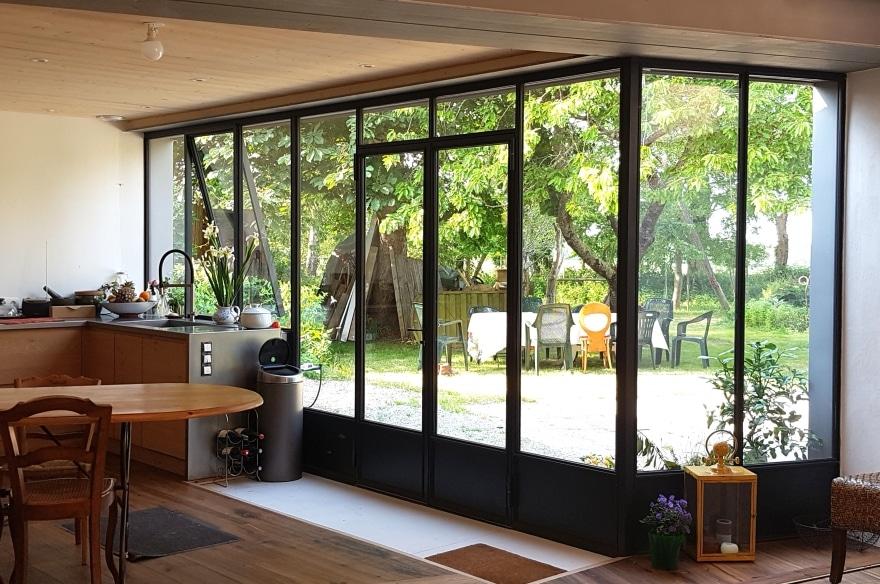 verrière pour optimiser éclairage maison